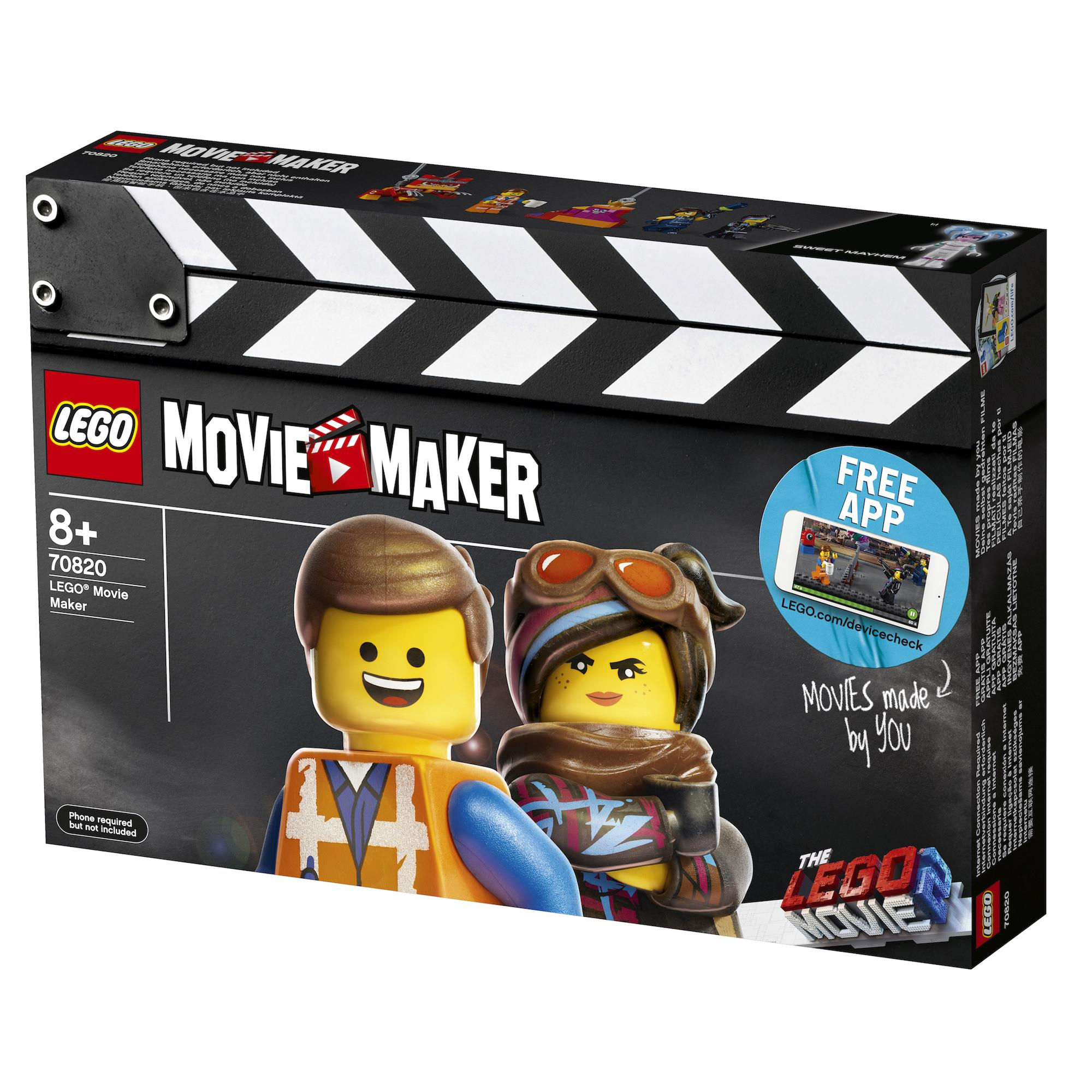 70820 TLM2 LEGO Movie Maker Packung