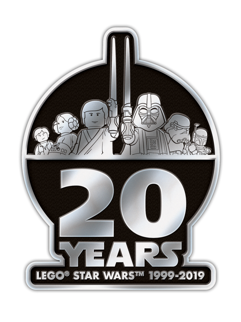 StarWars 20YearsLogo Metal 2019