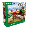 4 BRIO SE 33988 BRIO Nordische Waldtiere Set Packungs links