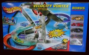 Hot Wheels Zero-G Track Set Velocity Vortex