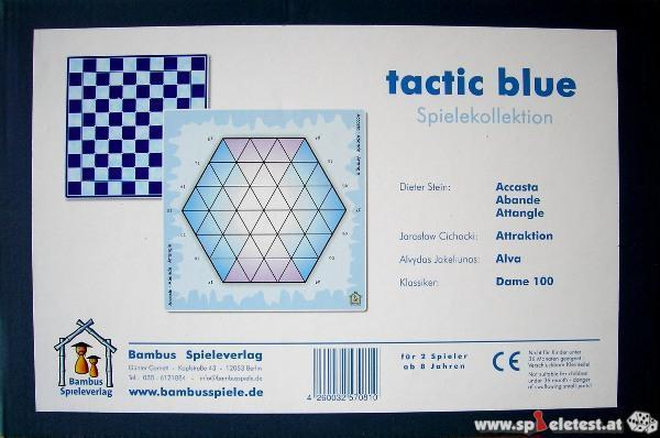 tactic blue - Spielekollektion