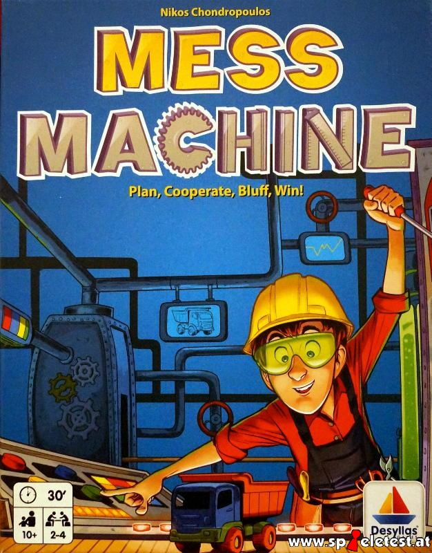 Mess Machine Cover