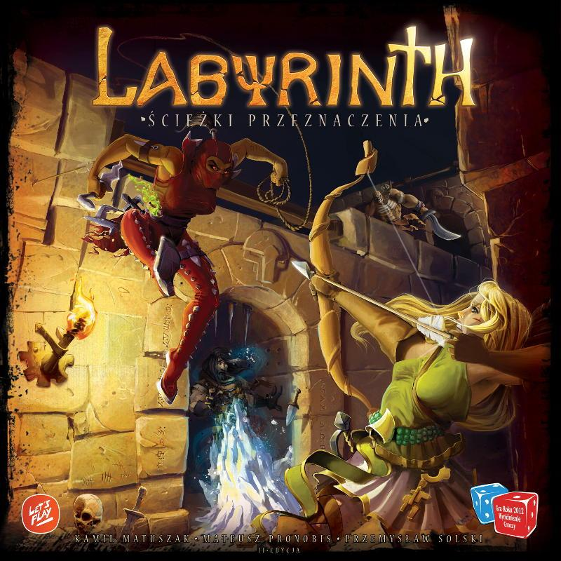 Labyrinth: The Paths of Destiny - Cover