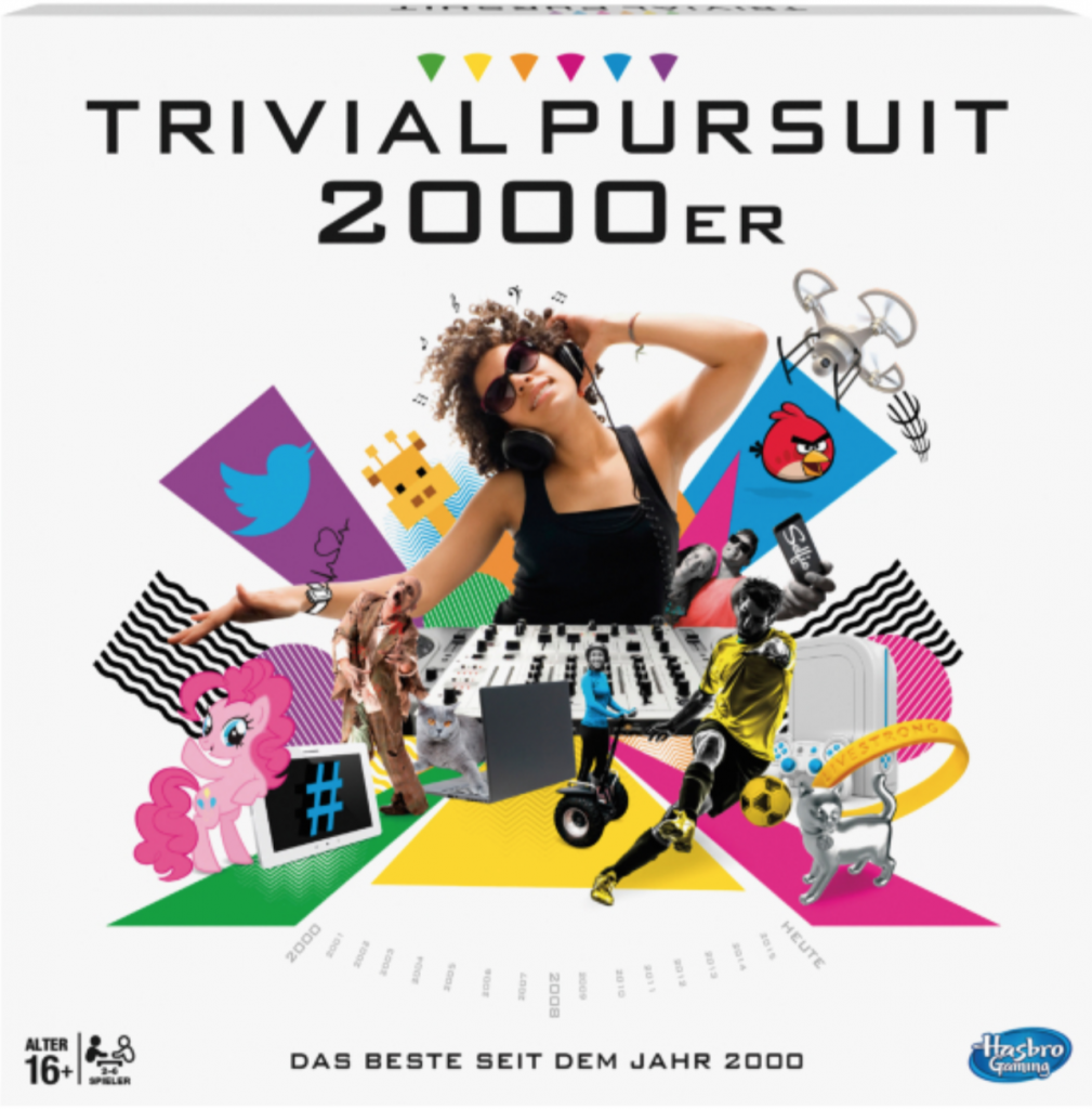 Trivial Pursuit 2000er - Coverfoto - (c) Hasbro