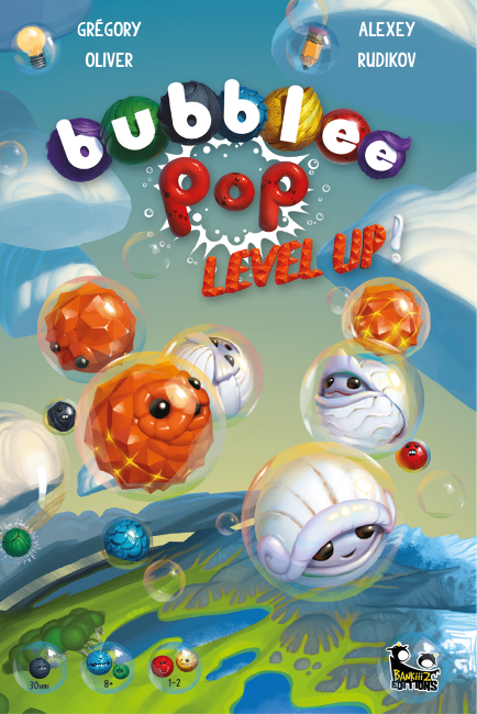 Bubblee Pop - Level Up - Cover