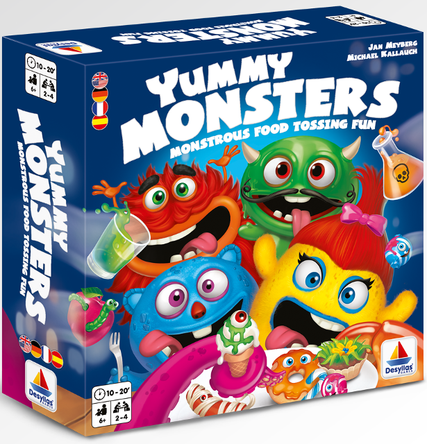 Yummy Monsters - Box
