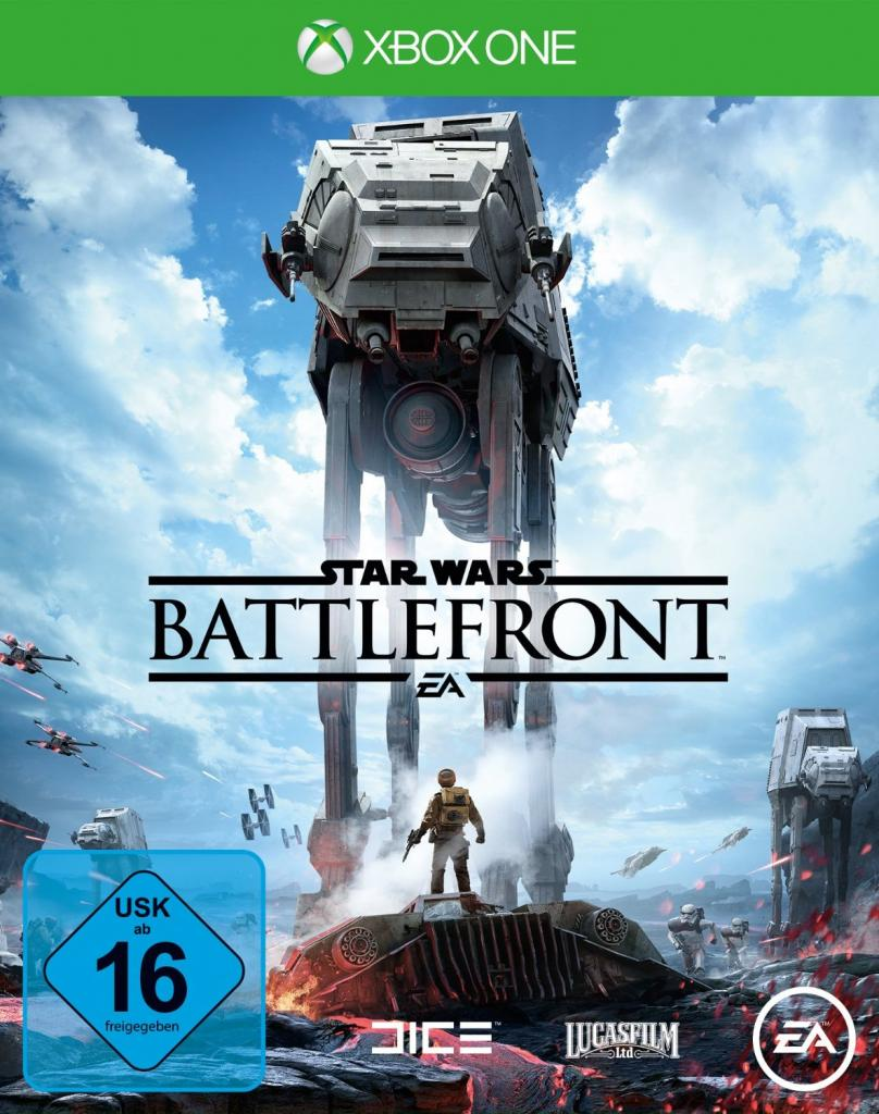 Star Wars Battelfront Cover