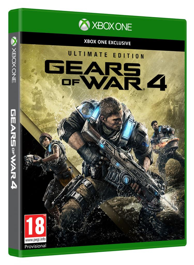Gears of War UE Cover